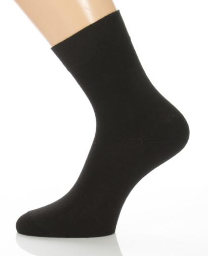 pr imgae Klasszik zokni - egyszínű fekete 05b254c1d4